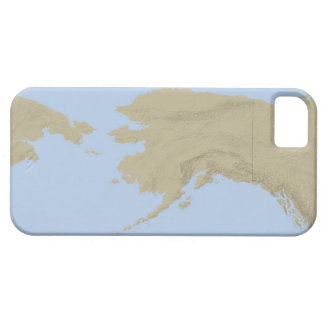 Mapa de Alaska 3 iPhone 5 Carcasas