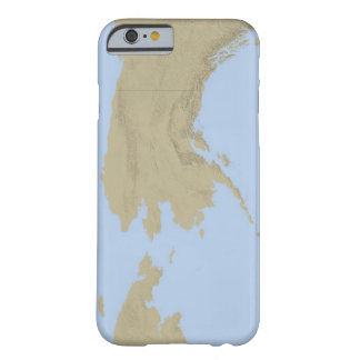 Mapa de Alaska 3 Funda De iPhone 6 Barely There