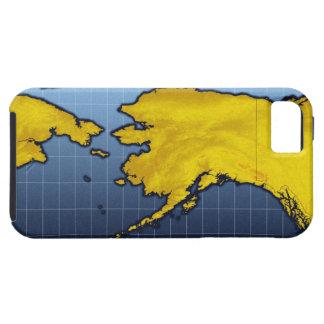 Mapa de Alaska iPhone 5 Funda