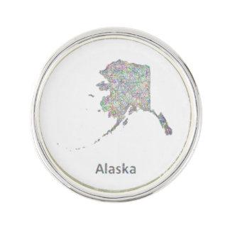 Mapa de Alaska Pin