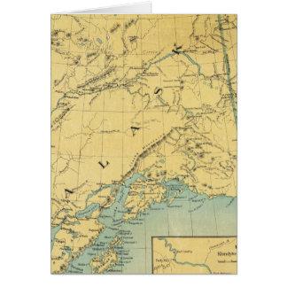 Mapa de Alaska Tarjetón