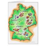 Mapa de Alemania Tarjeton