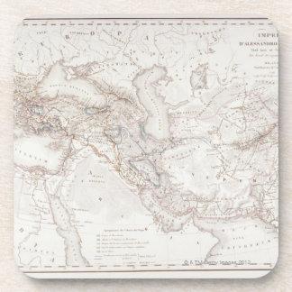 Mapa de Alexander el imperio de los Greats Posavaso