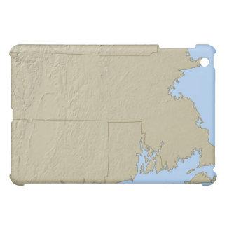 Mapa de alivio de Massachusetts