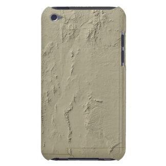 Mapa de alivio de New México Barely There iPod Carcasas