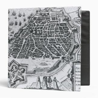 Mapa de Amberes, 1598