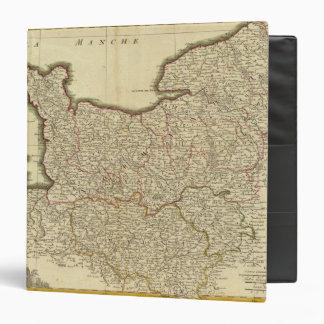 """Mapa de Antque de Francia Carpeta 1 1/2"""""""