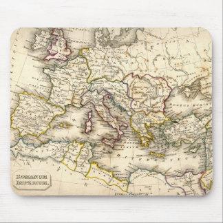 Mapa de Antquie de romano antiguo Tapete De Raton
