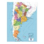 Mapa de Argentina Postal
