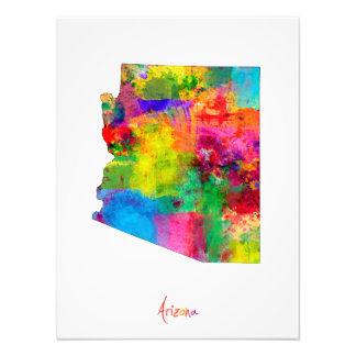 Mapa de Arizona Fotografía