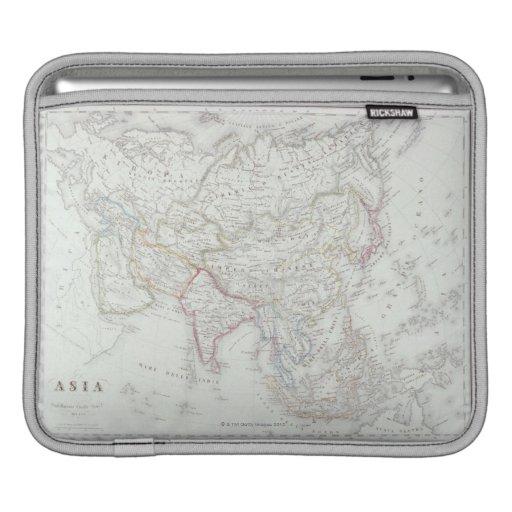 Mapa de Asia 2 Fundas Para iPads