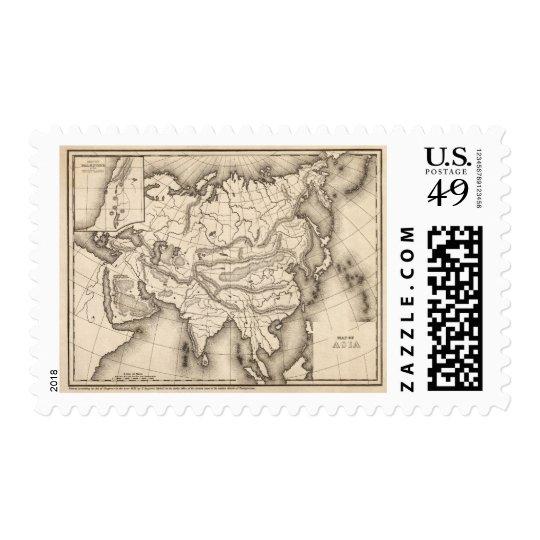 Mapa de Asia 2 Sello
