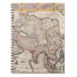 Mapa de Asia 4 Libros De Apuntes