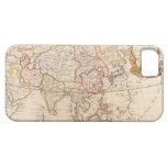 Mapa de Asia 5 iPhone 5 Cárcasas