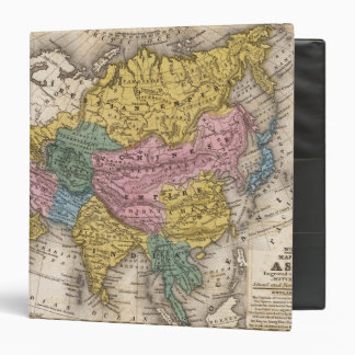 "Mapa de Asia Carpeta 1 1/2"""