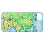 Mapa de Asia iPhone 5 Case-Mate Protector