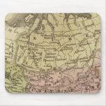 Mapa de Asia Olney Mouse Pads
