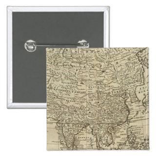 Mapa de Asia Pins