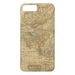 Mapa de Asia por Worcester Funda iPhone 7 Plus