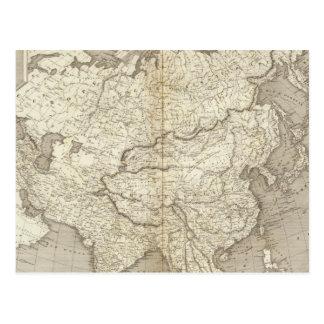Mapa de Asia Postal