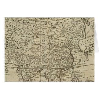 Mapa de Asia Tarjeton