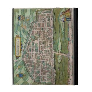 "Mapa de Aurelia, de ""Civitates Orbis Terrarum"" cer"