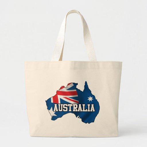Mapa de Australia Bolsas