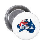 Mapa de Australia Pins