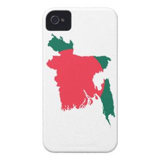 MAPA DE BANGLADESH Case-Mate iPhone 4 FUNDAS