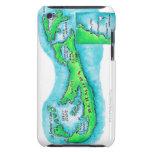 Mapa de Bermudas Case-Mate iPod Touch Cobertura