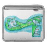 Mapa de Bermudas Mangas De iPad
