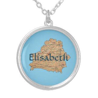 Mapa de Bielorrusia + Collar conocido