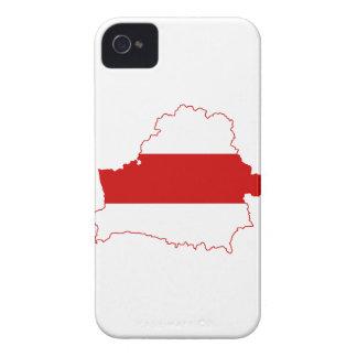 MAPA DE BIELORRUSIA iPhone 4 Case-Mate FUNDAS