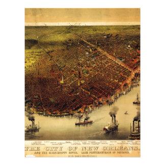 Mapa de Birdseye de New Orleans (1885) .jpg Membrete