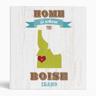 Mapa de Boise Idaho - casero es donde está el cor