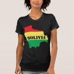 Mapa de Bolivia Camiseta