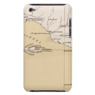 Mapa de bosquejo, montones antiguos, lugares del e barely there iPod carcasa
