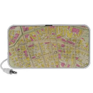 Mapa de Boston 11 Laptop Altavoz