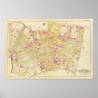 Mapa de Boston 11 Poster