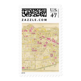 Mapa de Boston 13 Sellos