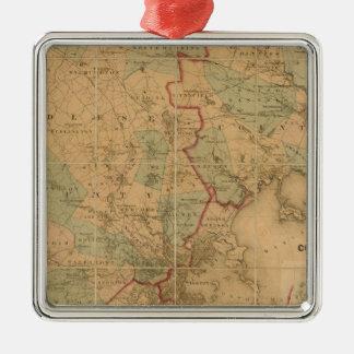 Mapa de Boston 2 Adornos
