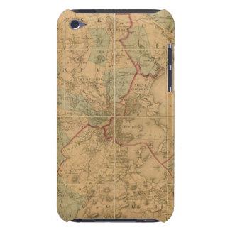 Mapa de Boston 2 Case-Mate iPod Touch Fundas