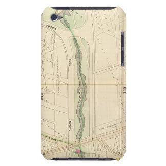 Mapa de Boston 2 iPod Touch Case-Mate Funda