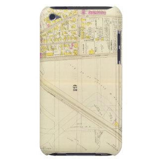 Mapa de Boston 6 iPod Touch Case-Mate Protectores