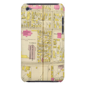 Mapa de Boston 6 Case-Mate iPod Touch Carcasa