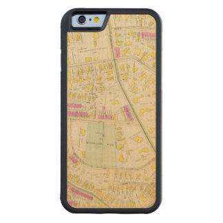 Mapa de Boston 7 Funda De iPhone 6 Bumper Arce