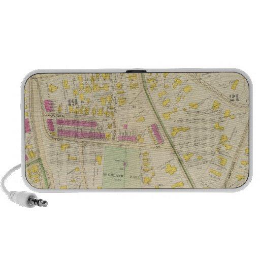 Mapa de Boston 7 iPod Altavoces