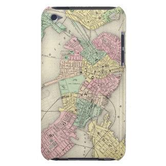 Mapa de Boston y de ciudades adyacentes iPod Touch Case-Mate Cobertura
