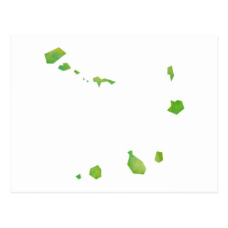 Mapa de Cabo Verde Tarjetas Postales