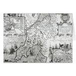 Mapa de Caernarvon, 1616 Felicitacion